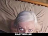 SisLovesMe - Teaching My StepSis To Suck Cock