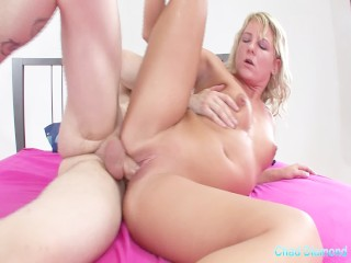 Gorgeous Harlot Double Penetrated For The Taste Time