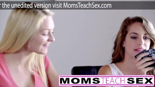 Step daughter brandi friends and love mom fucks teen group rae