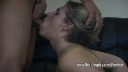 Hairy pussy girlfriend takes f