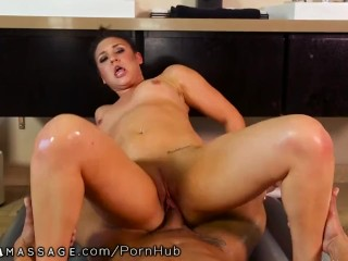 POV Nuru Massage with Step-Brother