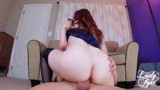 MILF REDHEAD Lady Fyre's Favorite Positions
