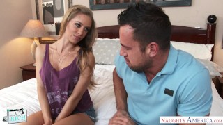 Rich girl Nicole Aniston gets rammed and slammed -- Naughty America