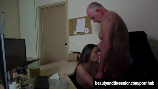 Teen Carla gets fucked and facialied in the office Up fuck