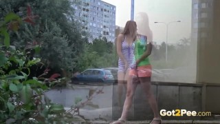 Hot Girls Public Pissing. Bubble buddy