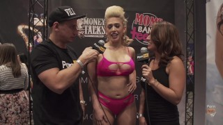 VITALY ZD AT AVN 2016 WITH NICOLE ANISTON & KAGNEY LINN KARTER INTERVIEWS