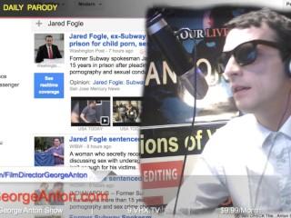 MARVEL GAY X-Man Homo Boys Party The George Anton Show Jared Fogle Bryan Si