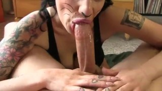 Preview 2 of She killing it deepthroating cock
