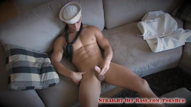 Gay guys in uniform videos Navy sailor kasey jerking in uniform