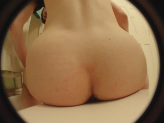 10.08 mm fisheye lens - bed & bathroom - dildo dissapearance - no cc