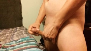 Jacking my Cock, big load at the end