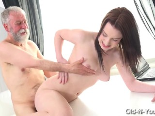 LENKA – Old Guy Enjoys a Teen