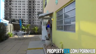 PropertySex - Vacation rental gone wrong turns into sex with busty agent  point-of-view blowjob blonde cumshot big-boobs propertysex missionary dsl busty hardcore cowgirl hottie big-dick real-estate-agent doggystyle facial