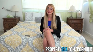 PropertySex - Vacation rental gone wrong turns into sex with busty agent  real estate agent point of view blowjob blonde cumshot propertysex missionary big dick dsl busty hardcore cowgirl hottie doggystyle facial big boobs