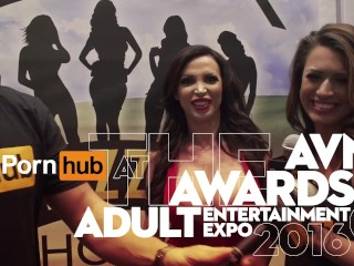 Vitaly zd at avn 2016 with peta jensen and keiran lee interviews