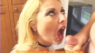 Milf Housewife FUCKS a Salesmen