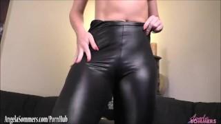 Worship my ass while I cum riding a dildo Shaved cocksucking