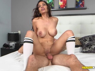 Groped In Movie Theater Fucking, A Pouncy Cougar Step-Mom: aleksandrA Summers and Levi Cash Big Tits