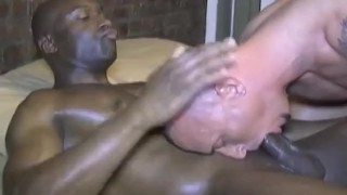 Duty double daddy interracial rimming