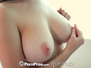 PornPros - Ashley Adams gets her tight pussy fucked by her man