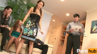 SWINGERS AND SWAPPERS 2 - Scene 1 Stepsister pov