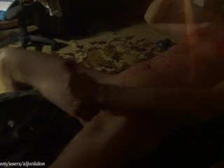 Jack off and hot candle (Cam2)