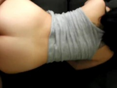 TEEN PUSSY FUCKED DOGGYSTYLE! CONDOM OFF (PART2) DEMI SWEETS