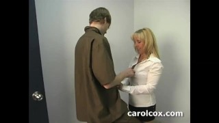 Carol young delivery does mature the guy quebec blowjob