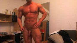 Emilio has the body of a young God - with an absolutely sculpted torso