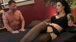 Katrina Jade Femdom ass licking femdom kink foot worship busty