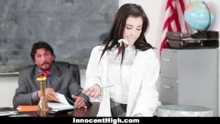 Fucked lab innocenthigh in chemistry by hot teacher girl teacher innocenthigh