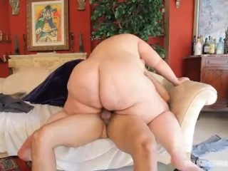 SSBBW Erin Green Loves Latino Cock