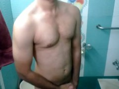 Pissing from my ass, while shower in bathroom