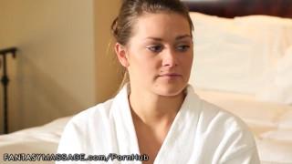 Curvy Alison Tyler gives Lesbian Nuru Massage porno