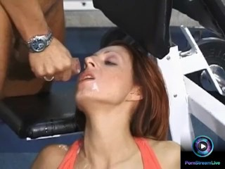 Hot mommas Lilienn and Elizabet got nailed after workout
