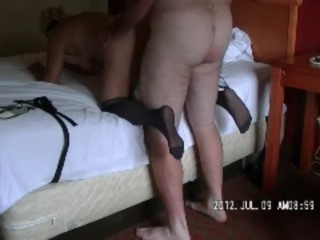 Daddy found a stranger to fuck me!
