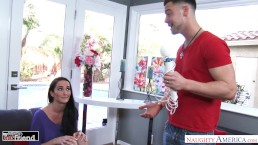 Bianca Breeze seduces her friend's husband & his big dick - Naughty America