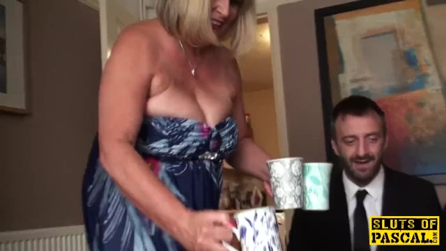 Broads mature Big british bdsm broad squirts during fucking