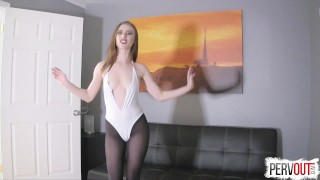 Anya Olsen Gets Hers with Lance Hart (CreamPie Eating, Switch Dom) lance hart pussy eating orgasm anya olsen pussy licking orgasm cross dressing post orgasm torture pantyhose choking switch sensual femdom creampie small tits creampie eating kinky sex leotard sweetfemdom fishnets