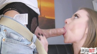 Anya Olsen Gets Hers with Lance Hart (CreamPie Eating, Switch Dom)  pussy eating orgasm kinky sex choking sensual femdom creampie small tits fishnets pantyhose switch leotard sweetfemdom pussy licking orgasm creampie eating cross dressing lance hart post orgasm torture anya olsen