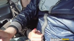 Mofos - Bella Beretta - Demanding Teen Fucks In Car