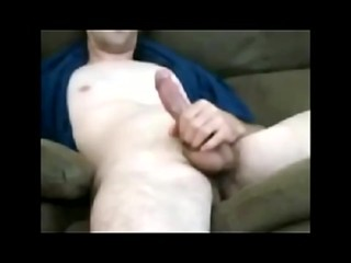 Male Cumming On The Webcam
