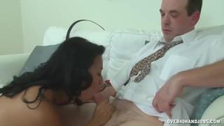 Asian mature masseuse cock treatment Job threeway