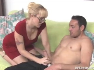 Blonde milf wants this prick
