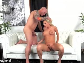 Katie Morgan busty MILF sucks and fucks at ArchAngel