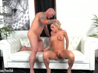 Katie Morgan busty MILF sucks and fucks at ArchAngel