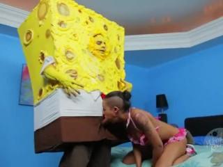 SpongeKnob SquareNuts Blowjob - The SpongeBob SquarePants XXX Parody