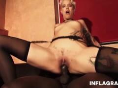 All Porn Tube Silvia Rubi takes on a BBC BBC - Big Black Cock