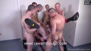 Hogan Gets Plowed Twink cumshot