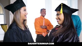 Preview 1 of Daughter Swap- Daughters Learn Sex From Dad's Best Friend
